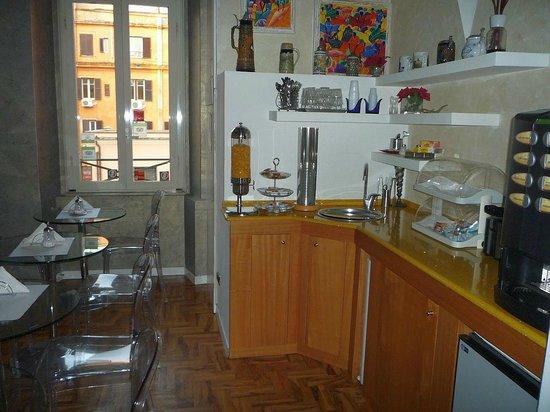 Relais Conte Di Cavour de Luxe : Breakfast area