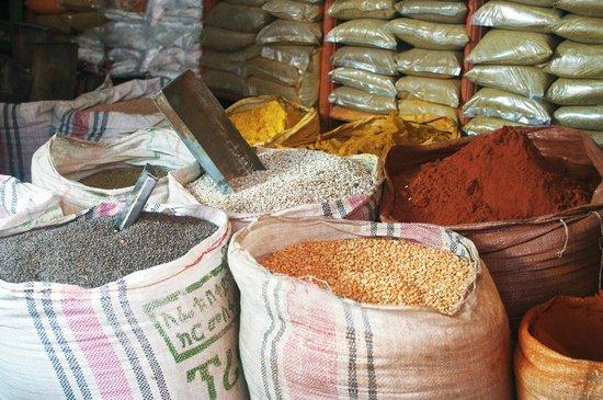 Merkato, spices