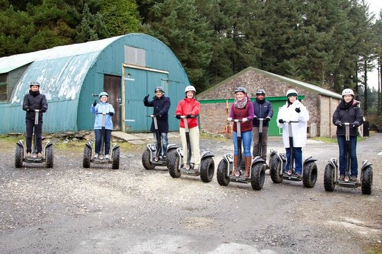 Segway Isle of Man: Segway Tour - Corporate Day out 28th March 2014