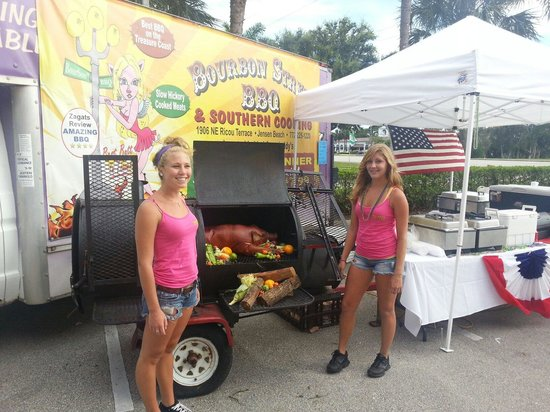 Bourbon Street BBQ and Southern Cooking: Catering event