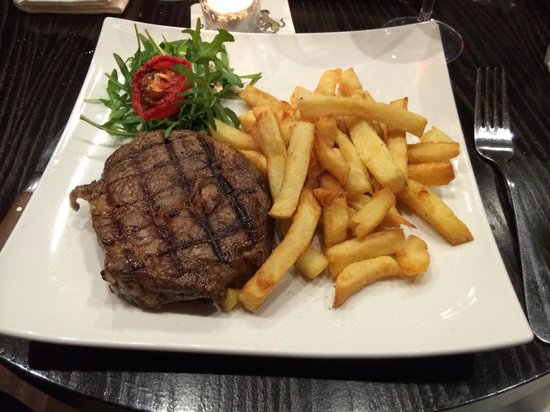The Whippet Inn: 40 day matured Rib Eye so good