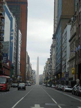 Cordoba 860: el obelisco