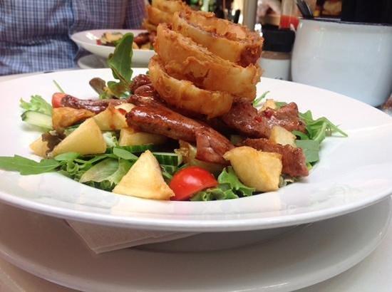 Christina's Bistro at Van Loveren: lovely but missnamed man salad