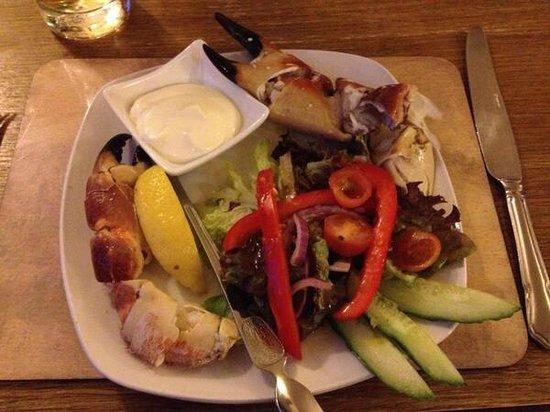 The Anchor Inn: Crab claws (Starter)