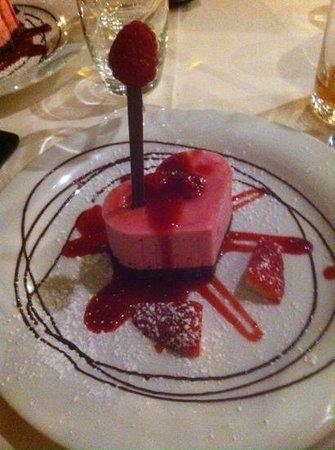Relais de la Poste: excellent dessert