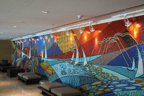 Marriott Marquis City Center Doha Hotel: Mural