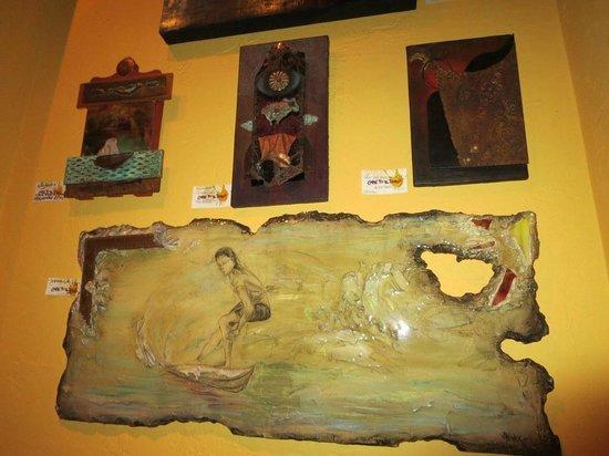 Cafe Tu Tu Tango: wall art