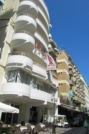 Hotel Thea & Residence : albergo dal corso