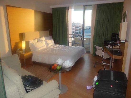 Hilton Athens: 544 Guest Room vista para acropole