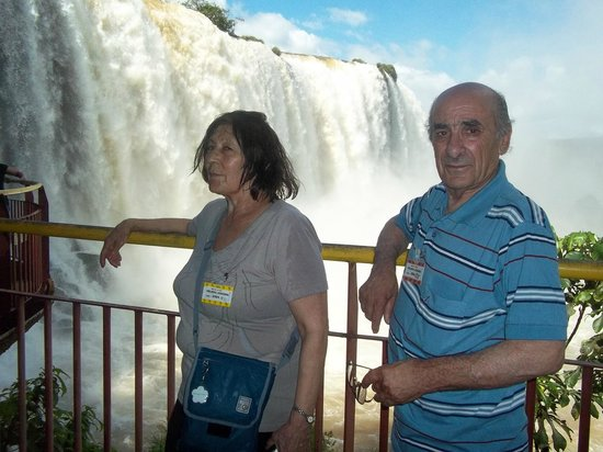 Foz do Iguaçu: Recorriendo desde muy cerca y muy mojados