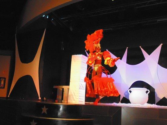Secrets Wild Orchid Montego Bay : strange but wonderful costume