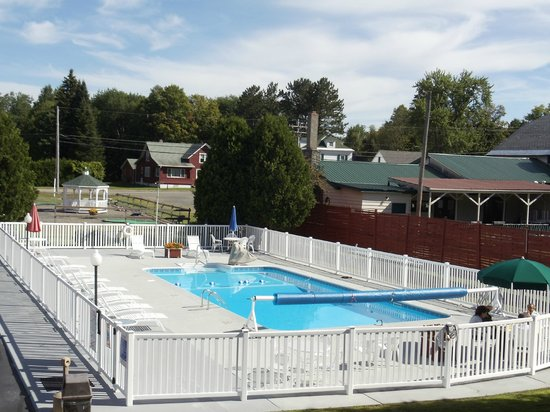 Shaheen's Adirondack Inn: Soak up some sun, then jump in  the pool and cool off