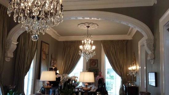 Terrell House Bed and Breakfast : gorgeous details everywhere!