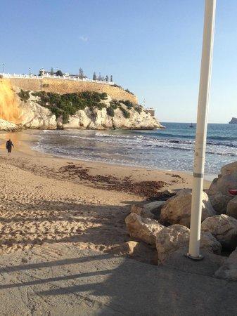 Hotel Magic Fenicia: The small beach, very close to the hotel