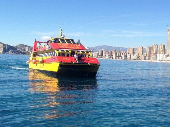 Hotel Magic Fenicia: The boat to Benidorm Island
