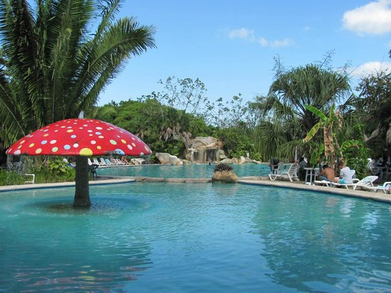 Bacab Eco Park: The pools