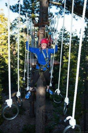 Tahoe Treetop Adventure Parks: Rings