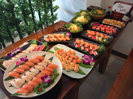 Asian Birthday Party Food Ideas