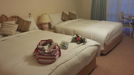 Comfort Inn Country Plaza Halls Gap: The beds