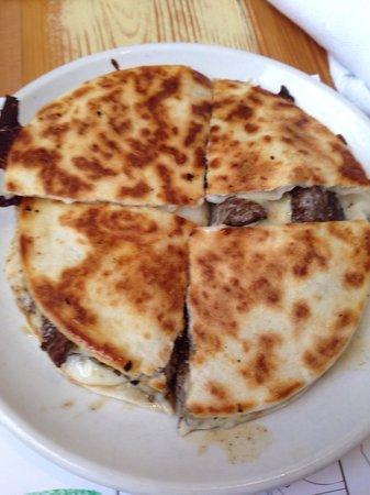 Babalu Tapas & Tacos: Steak quesadillas on the kids menu