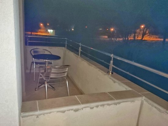 Guesthouse Villa Stevic : Terrace by night