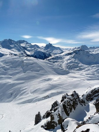 Hotel Post: To of St. Anton