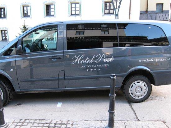 Hotel Post: Courtesy Van
