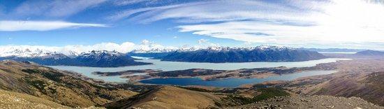 Lago Roca: View from Cerro Cristal