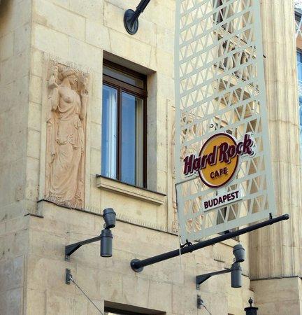 Vorosmarty Square (Vorosmarty ter): Hard Rock Cafe at Vorosmarty Square