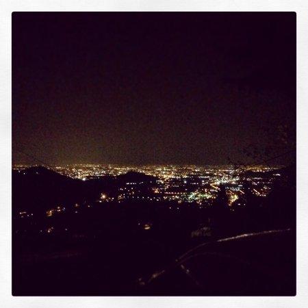 Trattoria al Pirio: La superba vista dalla terrazza...