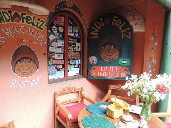 Indio Feliz Restaurant Bistro: indio feliz
