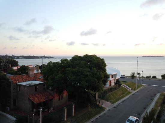 Costa Colonia Riverside Boutique Hotel : varanda