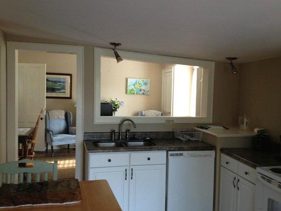 Sail Inn: Upper Deck Kitchen / :lining room