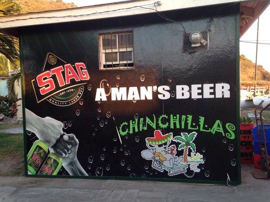 Chinchillas Mexican Restaurant & Bar: Chinchillas!