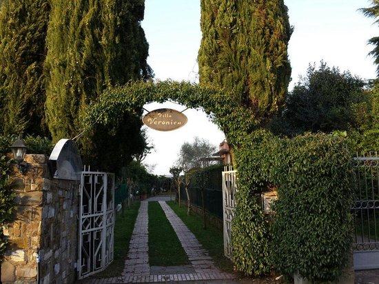 Villa Veronica: Entrata