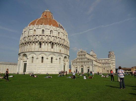 Der Schiefe Turm von Pisa: Pisa -Piazza dei Miracoli