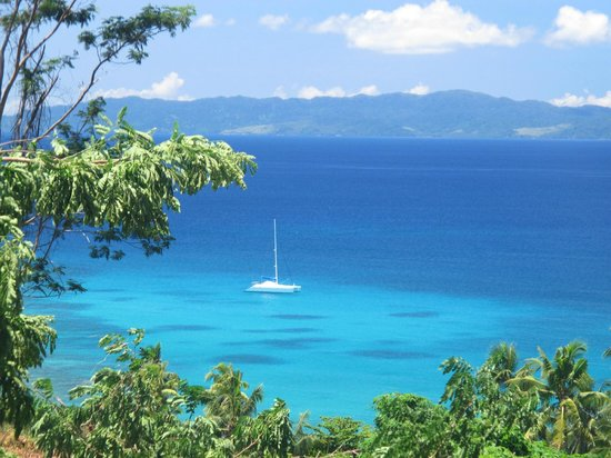 Sailing Fiji : Beautiful Vacala Bay Taveuni