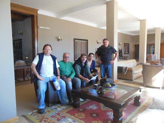 Hotel Tres Reyes: Recepción