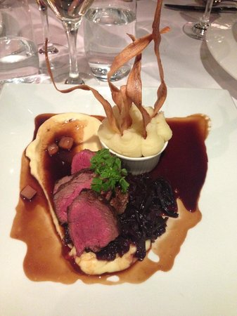 Stockbridge Restaurant: Venison
