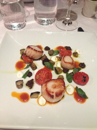 Stockbridge Restaurant: Scallops
