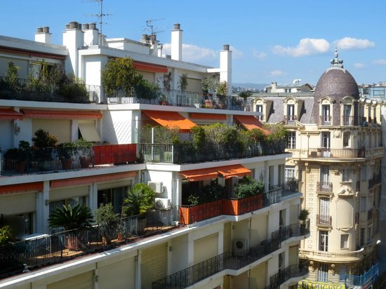 Mercure Nice Centre Grimaldi: Chanceux voisins