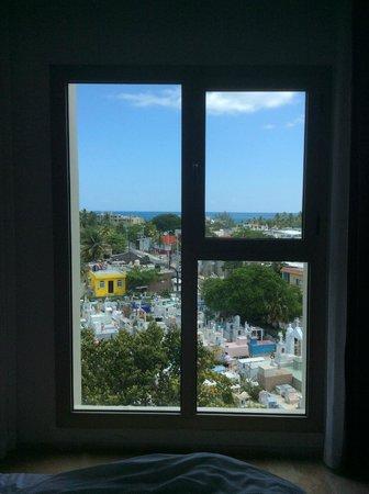 Privilege Aluxes: window view from bedroom