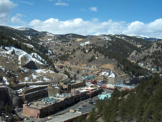 Ameristar Casino Resort Spa Black Hawk: View from 31st floor