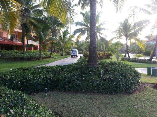 Caribe Club Princess Beach Resort & Spa: la petite voiturette