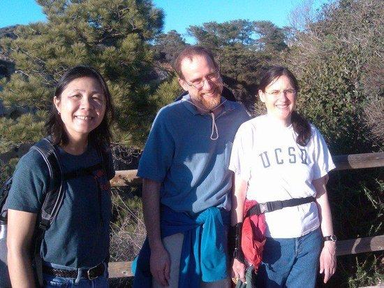 Torrey Pines State Natural Reserve: Nancy, Chris, Elizabeth