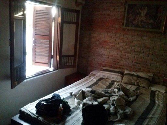 B'Lan Homestay : La chambre que nous avions choisi la moins chère très bien !