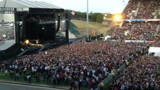 Mt Smart Stadium Auckland New Zealand: Bruce Springsteen Concert Mt Smart March 2014