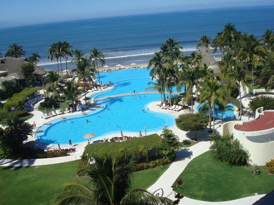 Grand Velas Riviera Nayarit : view from our balcony