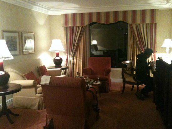 The Ritz-Carlton, Santiago : Noche Romantica
