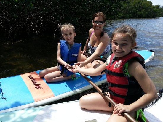 Sarasota Paddleboard Company: family fun